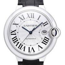 Cartier Ballon Bleu de Cartier Edelstahl / Leder Ref. W69016Z4
