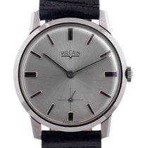 Vulcain La Chaux-de-Fonds Stainless Steel Wristwatch