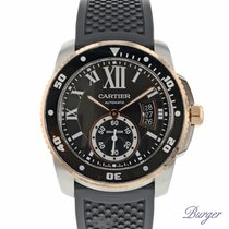 Cartier Calibre de Cartier Diver Stainless Steel / Pink Gold /...