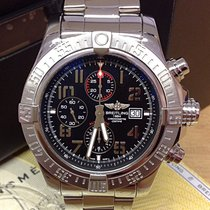 Breitling Super Avenger II A13371 - Box & Papers 2014
