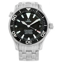 Omega Seamaster Black Wave Dial Midsize 300m Watch 2252.50.00...