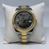 Rolex Datejust II 116333 Roger Federer 18k Yellow Gold and Steel