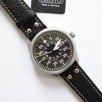 Aristo Pilot Acero 47mm Negro Arábigos