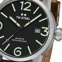 TW Steel Steel 48mm Quartz MS12 new