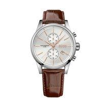 Hugo Boss 1513280 Men's Brown Leather Strap Chronograph Watch