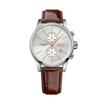 Hugo Boss 1513280 Men's Brown Leather Strap Chronograph Watch