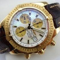 Breitling Chronomat Evolution - MOP - Gold 18K - K13356 - Papers
