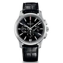 Zenith Captain Chronograph nowość 2021 Automatyczny Chronograf Zegarek z oryginalnym pudełkiem i oryginalnymi dokumentami 03.2110.400/22.C493