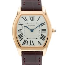 Cartier Tortue Rose gold 31mm Silver Roman numerals United States of America, Georgia, Atlanta