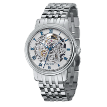 Epos Emotion Steel 41mm White Roman numerals