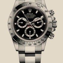 Rolex 116520-Black Stahl Daytona 40mm