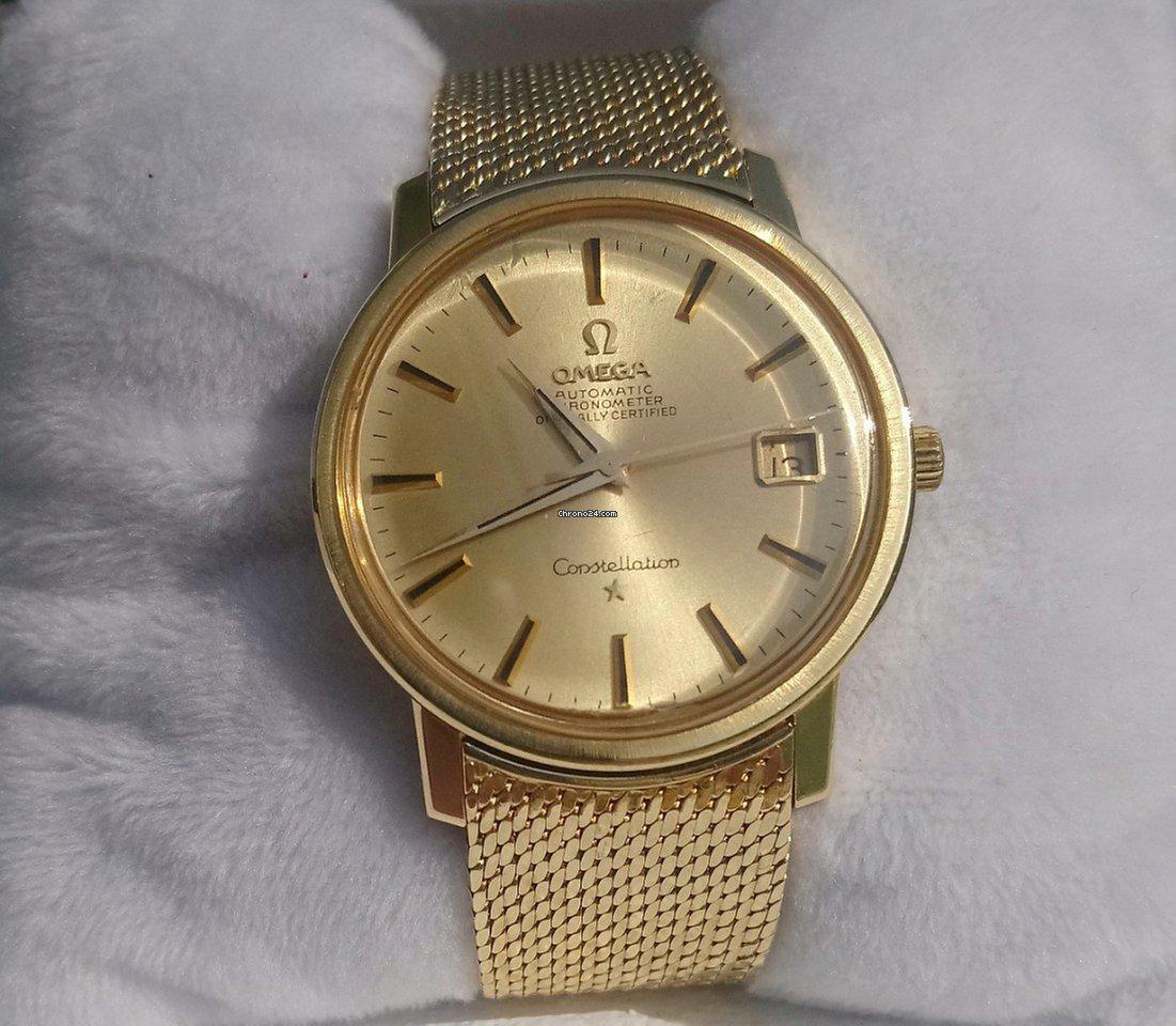 978757d51e9 Omega Constellation Ouro amarelo - Todos os preços de relógios Omega  Constellation Ouro amarelo na Chrono24