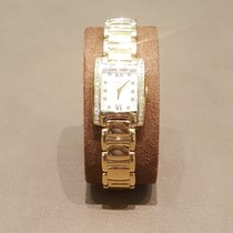 Ebel Yellow gold Quartz Mother of pearl No numerals pre-owned Brasilia
