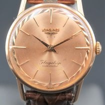Longines Red gold 36mm Automatic longines pre-owned