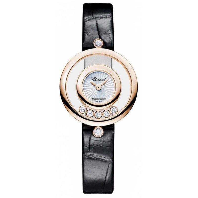 9d2c22ddb82b7 Chopard Happy Diamonds Rose gold - all prices for Chopard Happy Diamonds  Rose gold watches on Chrono24
