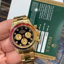 Rolex NEW Rolex Rainbow Yellow Gold 116598RBOW