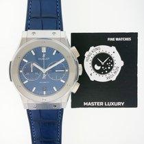 Hublot Classic Fusion Blue Titanium 45mm Blue No numerals United States of America, New York, New York