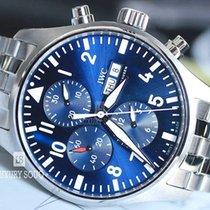 IWC Pilot Chronograph Steel 43mm Blue Arabic numerals UAE, Dubai