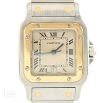 Cartier Santos Galbée 29mm Gold/Stahl