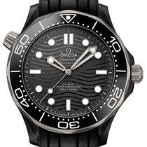 Omega Ceramic Automatic Black 43,5mm new Seamaster Diver 300 M
