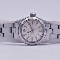 Rolex Oyster Perpetual Steel 24mm Silver No numerals