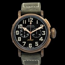 Zenith 29.2430.4069/21.C800 Bronze Pilot Type 20 Extra Special new United States of America, California, San Mateo
