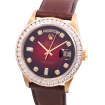 Rolex Day-Date 36 18038-8+2-Vignette-Leather 1970 pre-owned