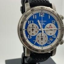 Chopard Mille Miglia gebraucht 40mm Blau Chronograph Datum Kautschuk