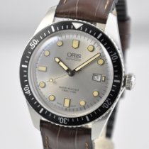Oris Divers Sixty Five Steel 42mm Silver United States of America, Ohio, Mason