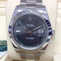 Rolex Datejust Steel 41mm Grey No numerals United Kingdom, Wilmslow