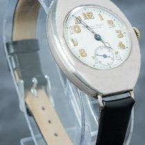 IWC Silver Manual winding White Arabic numerals 34mm pre-owned