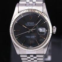 Rolex Datejust Otel 36mm Negru Fara cifre