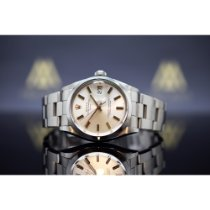Rolex Acero Automático Champán 34mm usados Oyster Perpetual Date