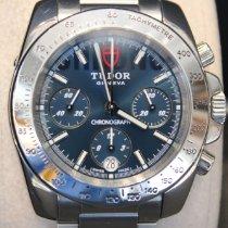 Tudor Sport Chronograph Steel 41mm Blue No numerals United States of America, New York, New York