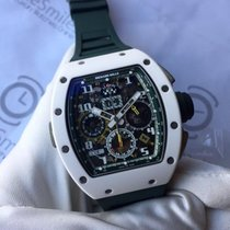 理查德•米勒 (Richard Mille) RM011-02 GMT LMC Limited White Ceramic