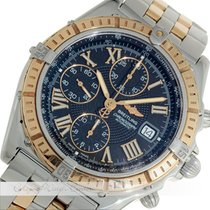 Breitling Crosswind Racing Chronograph Stahl / Gold D13055