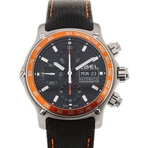 Ebel 1911 Discovery 43 Chronograph Black Dial