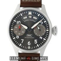 IWC Big Pilot Steel 46mm Grey Arabic numerals United States of America, New York, New York