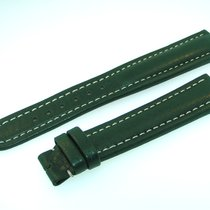 Breitling Band 19mm Green Verde Calf Strap Ib19-13