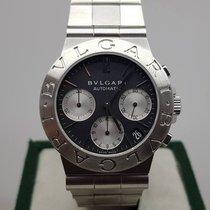 Bulgari Diagono sport chrono 35mm black dial
