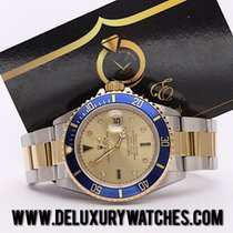 Rolex Submariner Date 16613 Sultan Dial Diamond Just Serviced