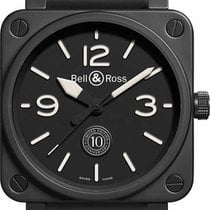 Bell & Ross BR 01-92 new Automatic Watch only BR-01-92-10TH-CE