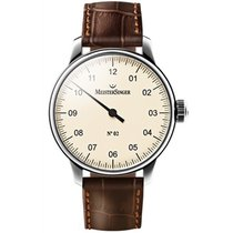 Meistersinger Uhren Herrenuhr Einzeigeruhr N02 AM6603