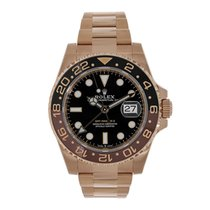 Rolex 126715CHNR Rose gold 2018 GMT-Master II 40mm pre-owned United States of America, New York, New York