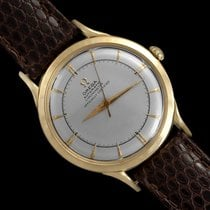 Omega Globemaster Yellow gold 35mm Silver United States of America, Georgia, Suwanee