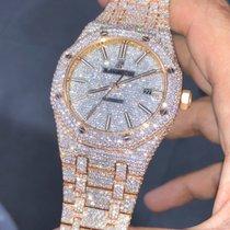 Audemars Piguet Royal Oak Selfwinding 41mm Custom Diamonds...