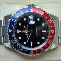 Rolex [SERVICE+NEAR-NOS+NO-HOLE] GMT Master II Pepsi, F - 2005