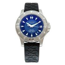 Chopard L.U.C Stahl 42.5mm Blau Keine Ziffern