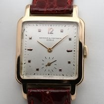 Vacheron Constantin Red gold 28mm Manual winding Squarre Vintage pre-owned