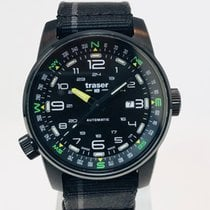 Traser 46mm Automatic 2018 new Black